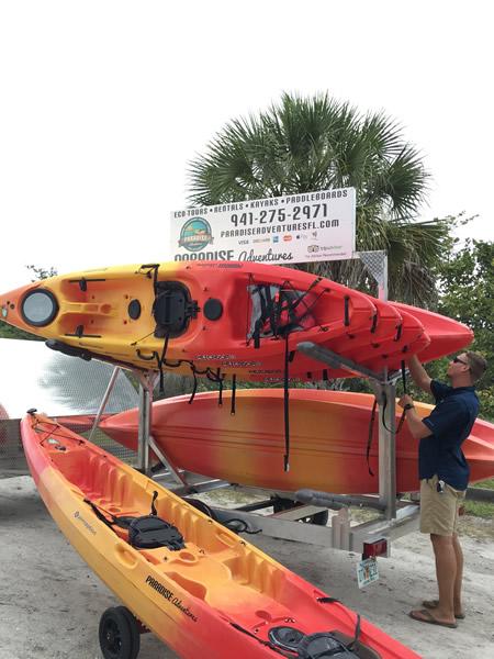 Kayak-Rentalsweb